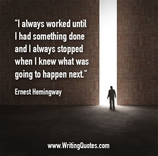 Hemingway writing website