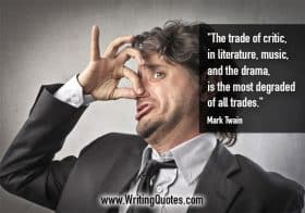 Man holding nose - Stephen King quotes about trade and degraded - Stephen King Quotes On Writing
