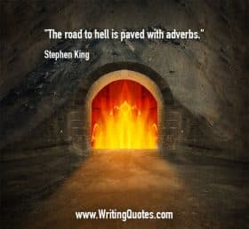 Fireplace in stone wall - Stephen King quotes about road and Hell - Stephen King Quotes On Writing
