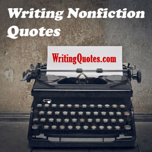 Writing nonfiction quotes logo