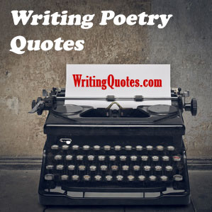 Writing poetry quotes logo