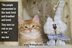 Allan Wolf Quotes – Real You – Quotes About Writing