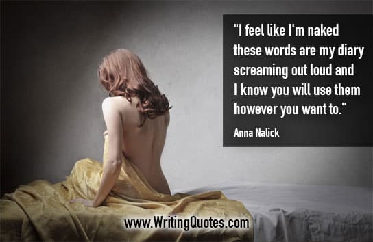 Anna Nalick Quotes – Naked Words – Quotes About Writing