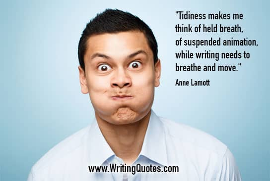 Anne Lamott Quotes – Suspended Animation – Inspirational Writing Quotes