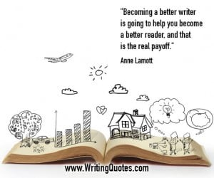 Anne Lamott Quotes – Real Payoff – Writing Quotes About Reading Books