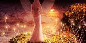 Half-naked fairy at sunset - C.S. Lewis quotes about make and anything - Inspirational Writing Quotes