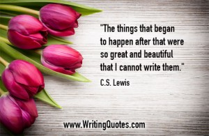 CS Lewis Quotes – Great Beautiful – Famous Quotes About Writing