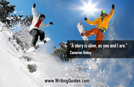 Cameron Dokey Quotes – Story Alive – Inspirational Writing Quotes