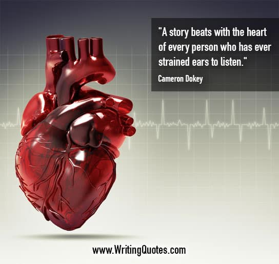 Cameron Dokey Quotes – Beats Heart – Inspirational Writing Quotes