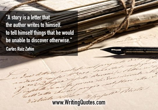 Carlos Ruiz Zafon Quotes – Unable Discover – Quotes About Writing