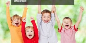 Children cheering - Dorianne Laux quotes about like and child - Writing Poetry Quotes
