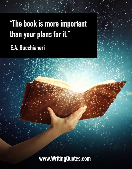 EA Bucchianeri Quotes – Important Plans – Quotes About Writing