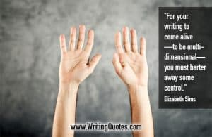 Elizabeth Sims Quotes – Barter Control – Quotes About Writing