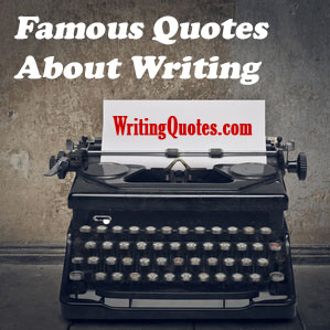 Famous quotes about writing logo