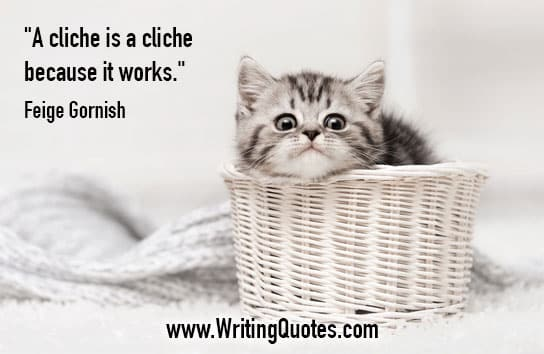Feige Gornish Quotes – Cliche Works – Quotes About Writing