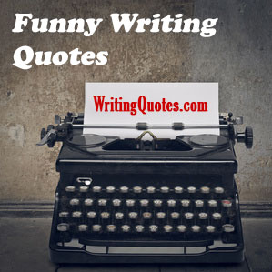 Funny writing quotes logo