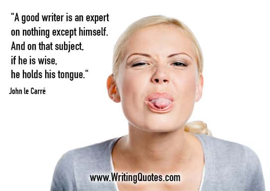 John le Carre Quotes – Expert Himself – Quotes About Writing