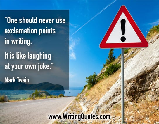 Mark Twain Quotes – Own Joke – Mark Twain Quotes On Writing