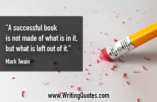 Mark Twain Quotes – Successful Left – Mark Twain Quotes On Writing