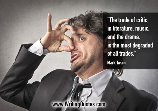Mark Twain Quotes – Trade Degraded- Mark Twain Quotes On Writing