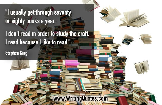 Stephen King Quotes – Study Craft – Stephen King Quotes on Writing