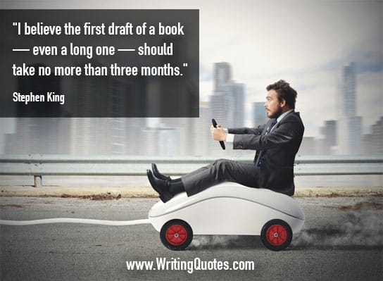 Stephen King Quotes – First Draft – Stephen King Quotes on Writing