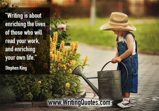 Stephen King Quotes – Enriching Life – Stephen King Quotes on Writing