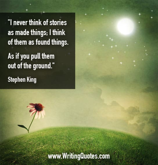 Stephen King Quotes – Found Ground – Stephen King Quotes on Writing
