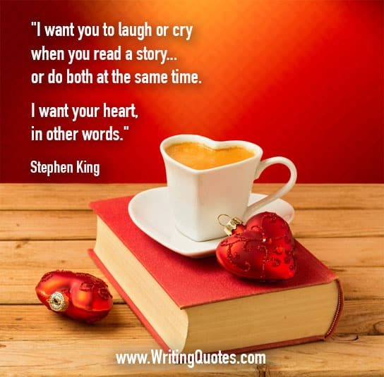 Stephen King Quotes – Want Heart – Stephen King Quotes on Writing