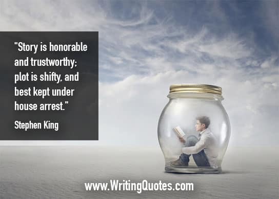 Stephen King Quotes – Honorable Trustworthy – Stephen King Quotes on Writing