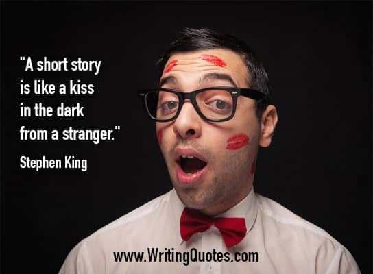 Stephen King Quotes – Kiss Stranger – Stephen King Quotes on Writing