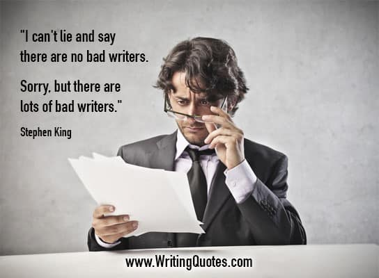 Stephen King Quotes – Lie Bad – Stephen King Quotes on Writing