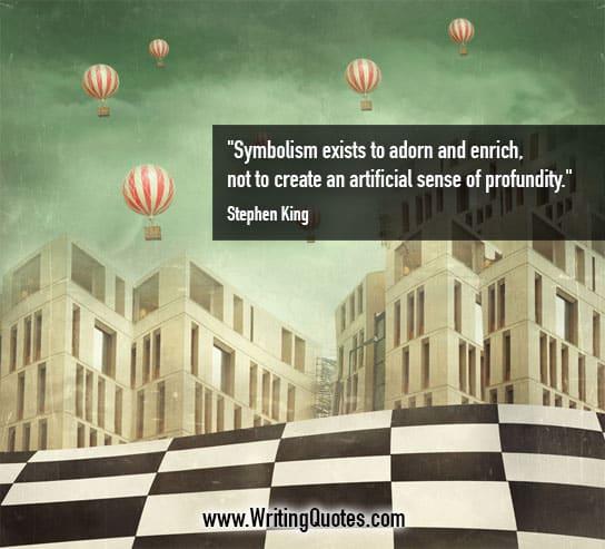 Stephen King Quotes Symbolism Adorn