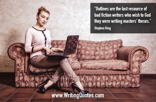 Stephen King Quotes – Outlines Theses – Stephen King Quotes on Writing