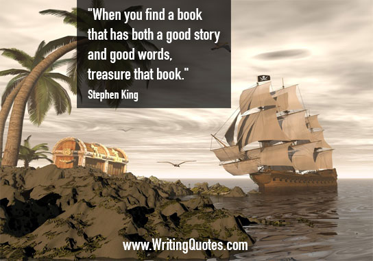 Stephen King Quotes – Treasure Book – Stephen King Quotes on Writing