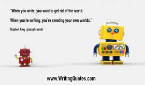 Stephen King Quotes – Rid World – Stephen King Quotes on Writing